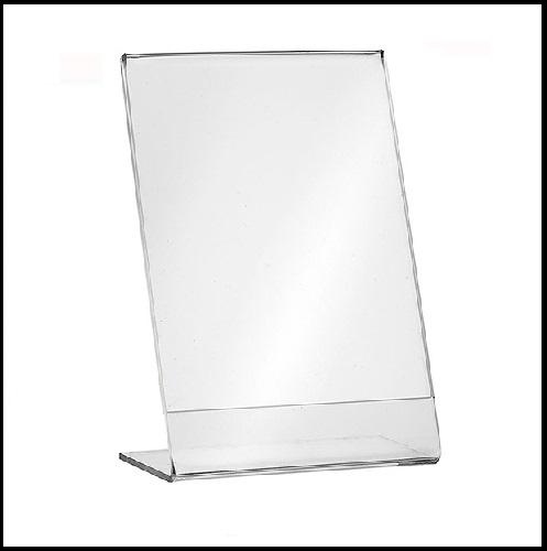 stojaki na ulotki, kieszenie z plexi